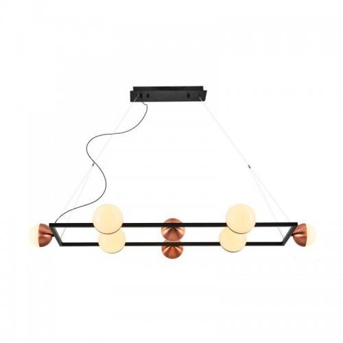Lampa wisząca nowoczesna ozcan kuchnia  jadalnia salon sypialnia 4029 - 8
