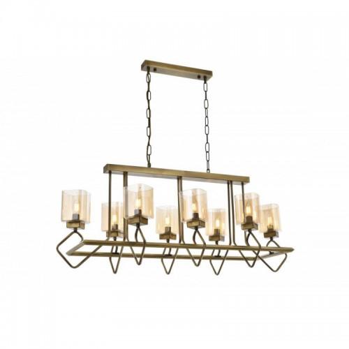 Niesamowita lampa wisząca AV-1740-8E-YM  avonni salon sypialnia jadalnia