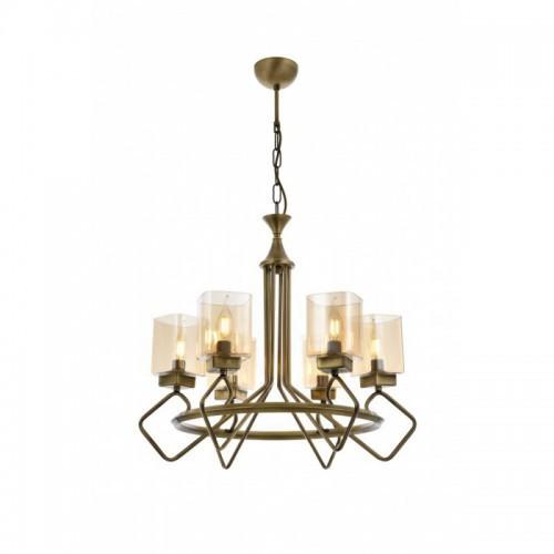 Niesamowita lampa wisząca AV-1740-6E  avonni salon sypialnia jadalnia