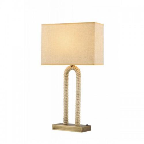 Lampa stolikowa z abażurem avonni patyna  ML-1582-1E  salon  sypialnia  jadalnia