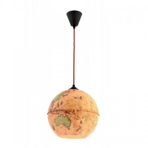 Lampa wisząca  mapa globus avonni salon sypialnia jadalnia av-4107-globe  lampa
