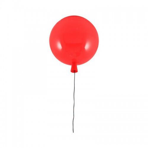 Czerwona lampa sufitowa plafon  balon 3218-3 ozcan lampa dziecięca pokój dla dziecka