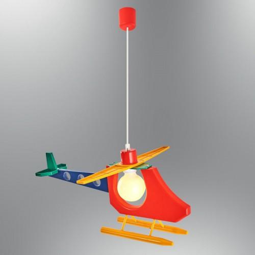 Dziecięca lampa helikopter ozcan 4800-2 kolorowy
