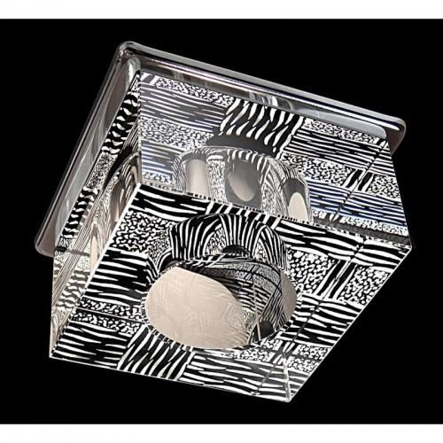 Hiszpańskie kryształowe oczko podtynkowe gumarcris 2140cr lampa podtynkowa