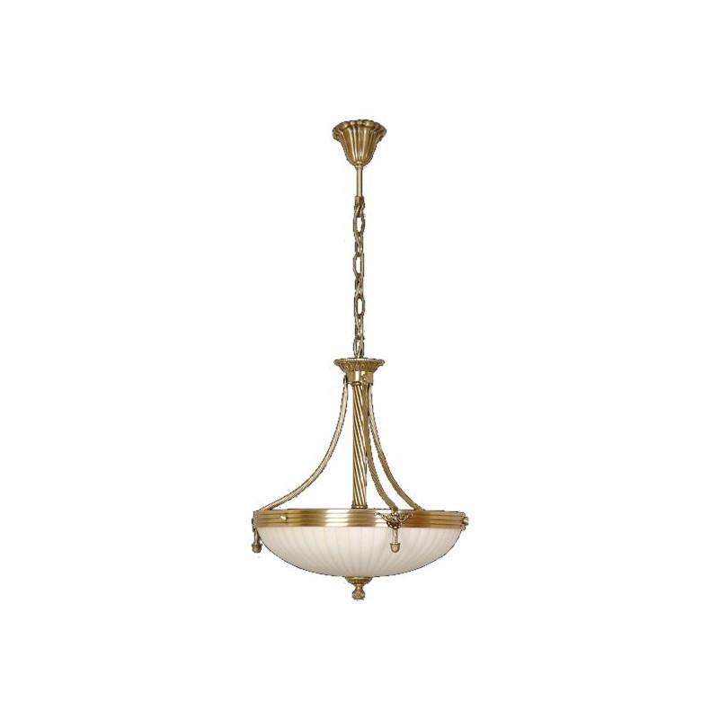 Mosiężny żyrandol 2065 ot sevinc lampa mosiądz 3x60w