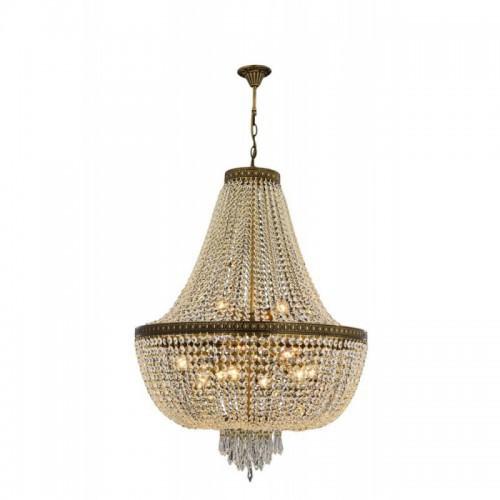 Kryształowa lampa żyrandol  avonni hotel sala bankietowa restauracja salon   av-1497-e80 lampa