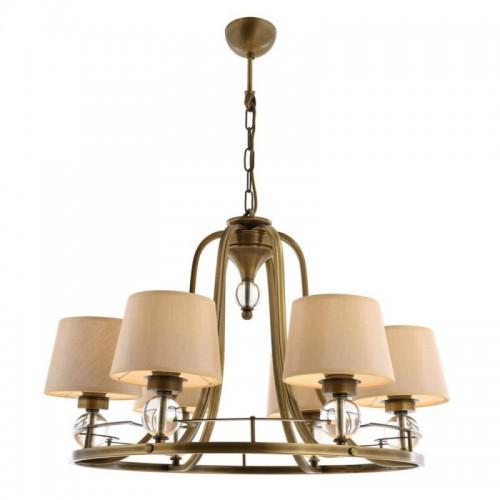 Klasyczna lampa żyrandol  avonni salon sypialnia jadalnia hotel sala bankietowa restauracja salon av-1597-6es lampa