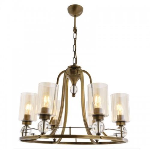 Klasyczna lampa żyrandol  avonni salon sypialnia jadalnia hotel sala bankietowa restauracja salon av-1597-6e lampa