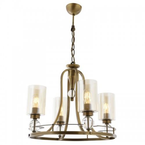 Klasyczna lampa żyrandol  avonni salon sypialnia jadalnia  hotel sala bankietowa restauracja salon av-1597-4e lampa