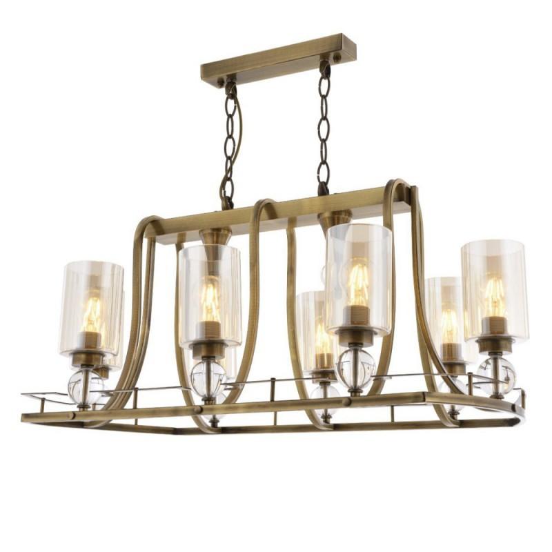 Klasyczna lampa żyrandol  avonni salon sypialnia jadalnia  hotel sala bankietowa restauracja salon av-1597-8e-ym lampa